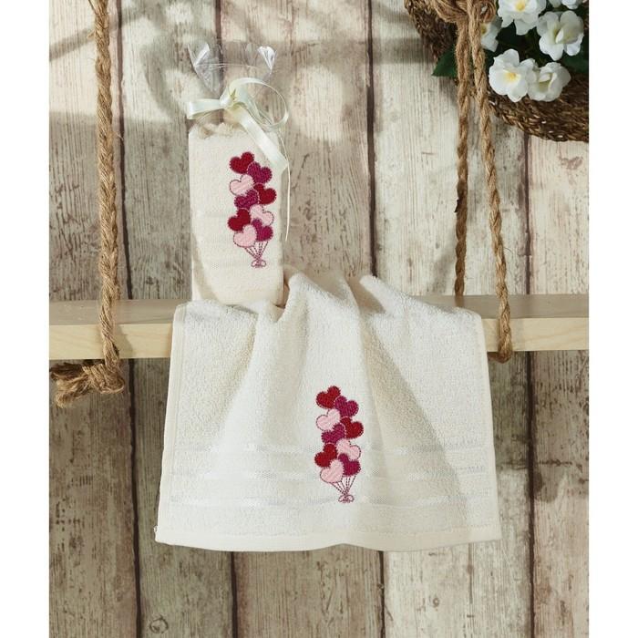 Полотенце Rita, размер 30 × 50 см, молочный