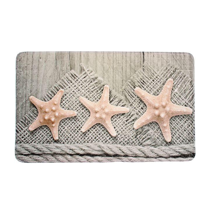 Коврик для ванной «Морские звёзды»