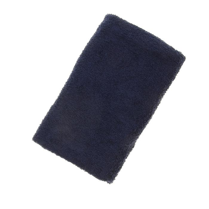 Полотенце махровое однотонное Антей цв  т-синий 40*70см 100% хлопок 430 гр/м2