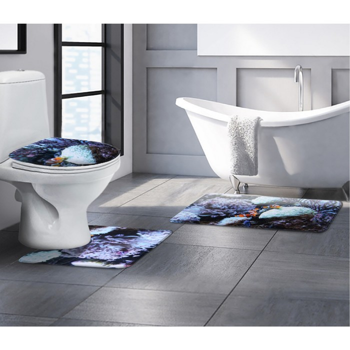 купить аксессуары для ванной и туалета