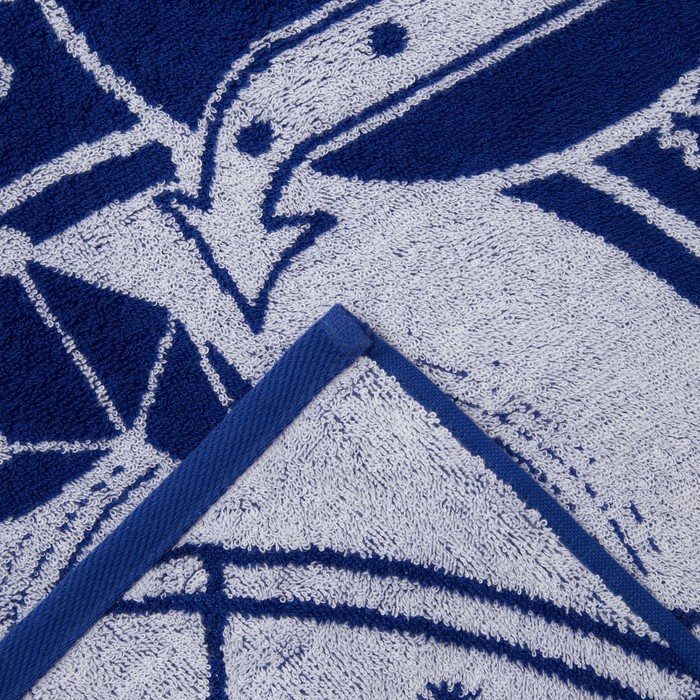 "Полотенце махровое Этель ""Скорпион"" 70х130 см, 100% хлопок, 420гр/м2"
