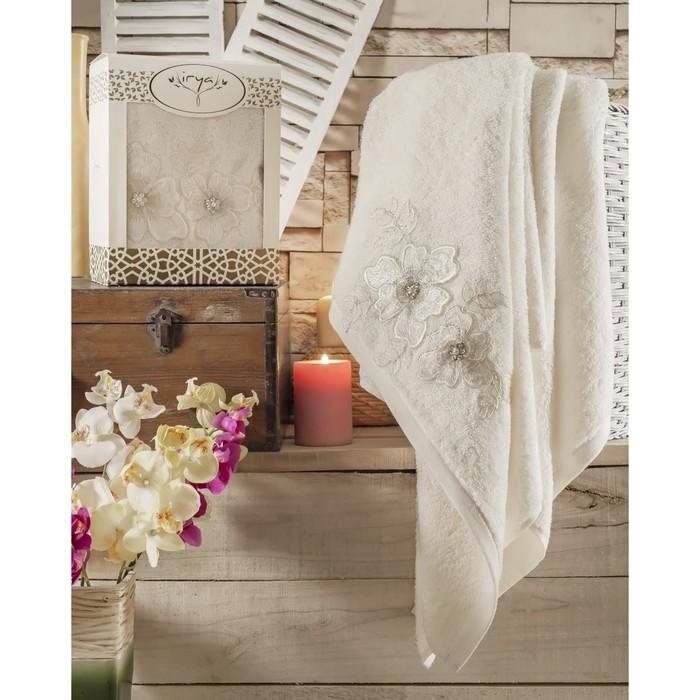 Полотенце Pearly, размер 85 × 150 см, молочный