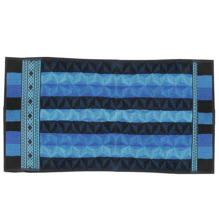 Полотенце махровое 30х70 см, синий, хлопок 100%, 420г/м2