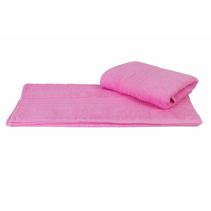 Полотенце Rainbow, размер 30 × 50 см, розовый