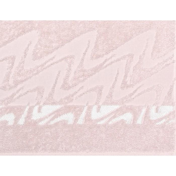 Полотенце махровое Brilliance 50х90 см, 12-2103 светло-розовый, хлопок 100%, 400 гр/м2