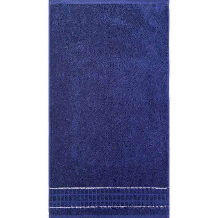Полотенце махровое Megapolis 50х90 см, 19-3936 фиолетовый, хлопок 100% 400 гр/м2