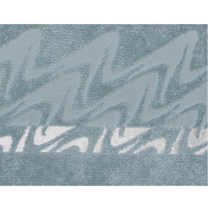 Полотенце махровое Brilliance 50х90 см, 14-4908 зеленый, хлопок 100%, 400 гр/м2