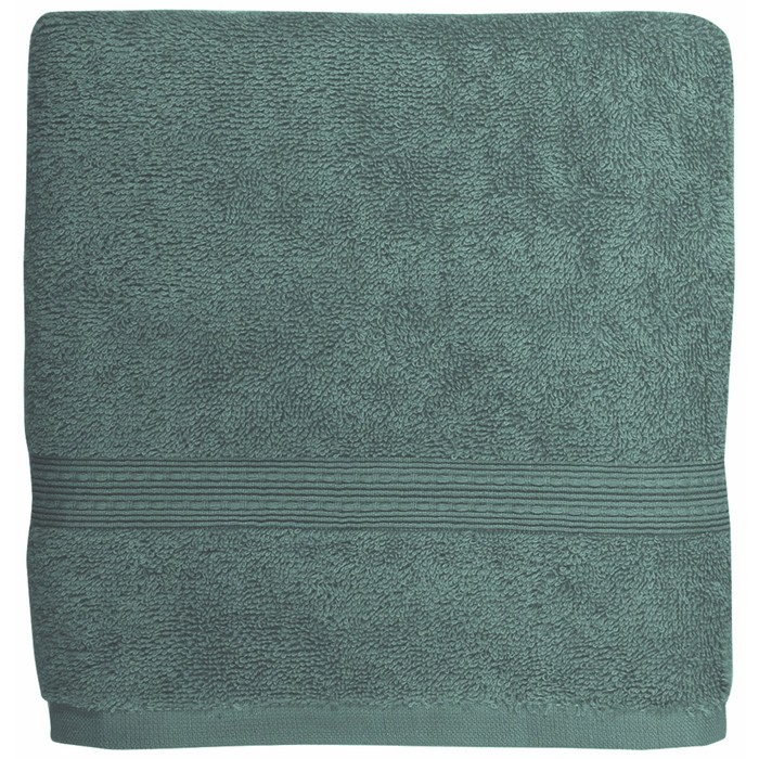 Полотенце Classic, размер 50 × 90 см, сине-зелёный