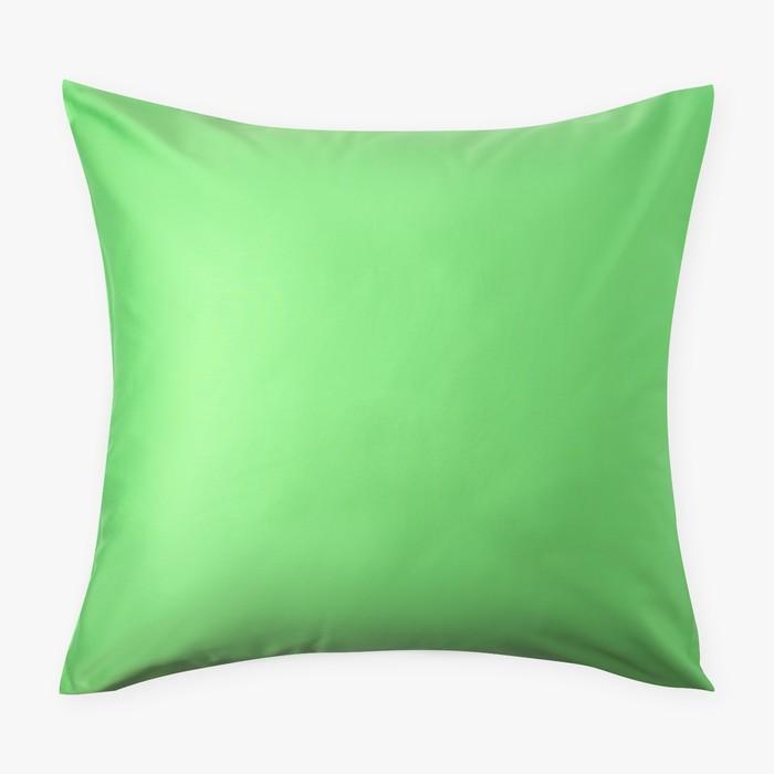 Наволочка «Этель» 70×70, цвет салатовый, 100% хлопок, мако-сатин, 125 г/м²