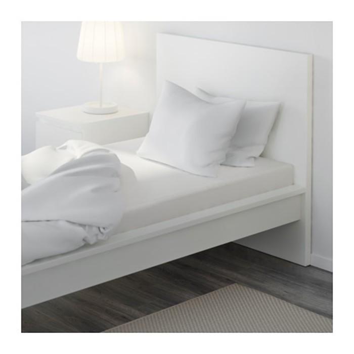 Простыня на резинке ФЭРГМОРА, размер 90х200 см, цвет белый