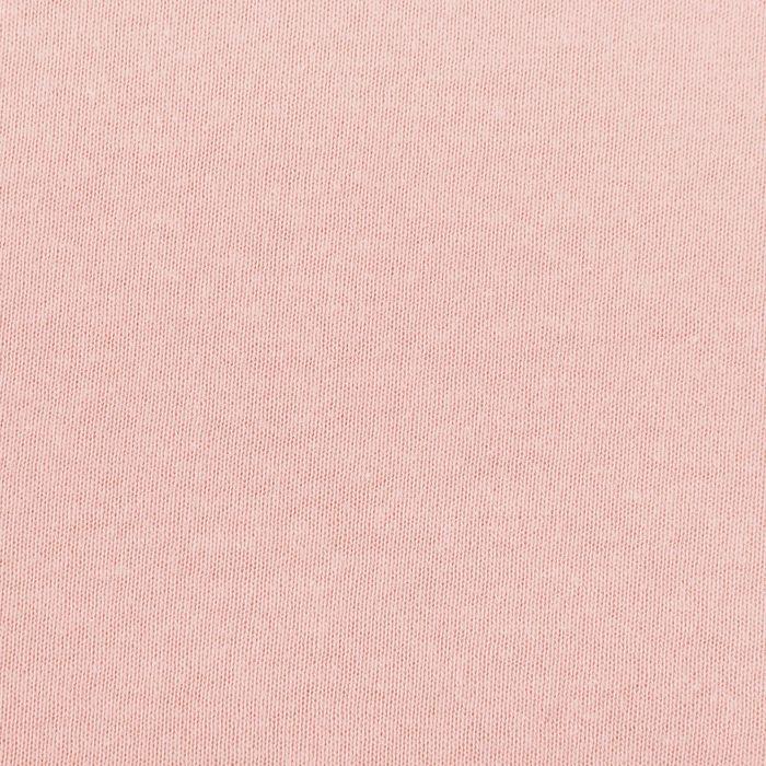 Простыня трикотажная на резинке, 160х200х20, цвет розовый, 125 гр/м2