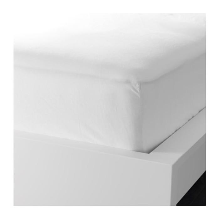 Простыня на резинке ФЭРГМОРА, размер 140х200 см, цвет белый