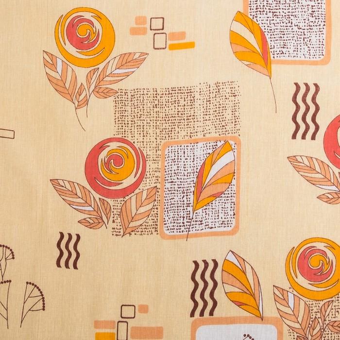 Простыня La Marka 2сп, 180х210см, цвет МИКС бязь набивная