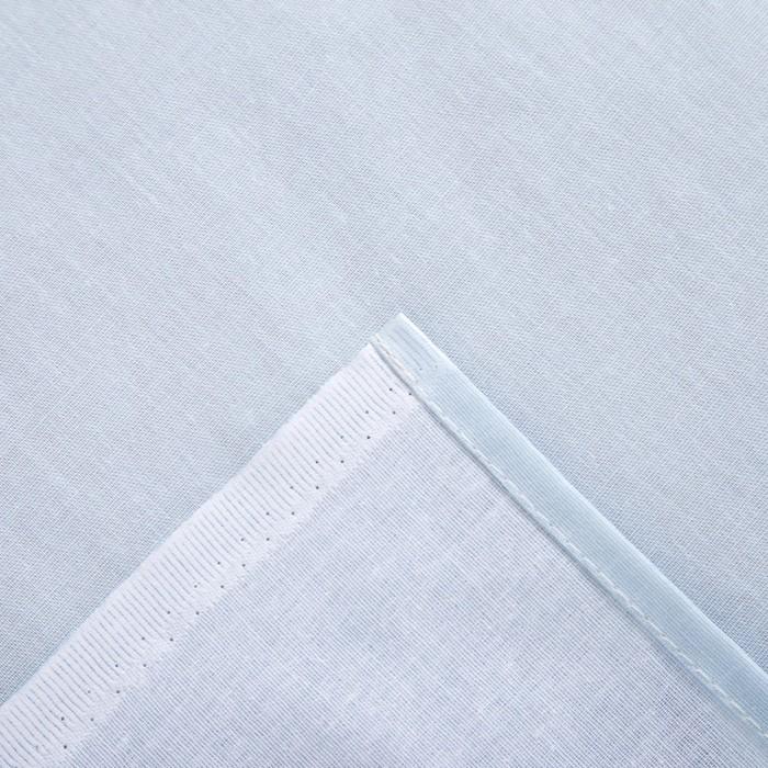 Простыня Этель «Кувшинки» 150×220 см, бязь, 125 г/м², 100% хлопок