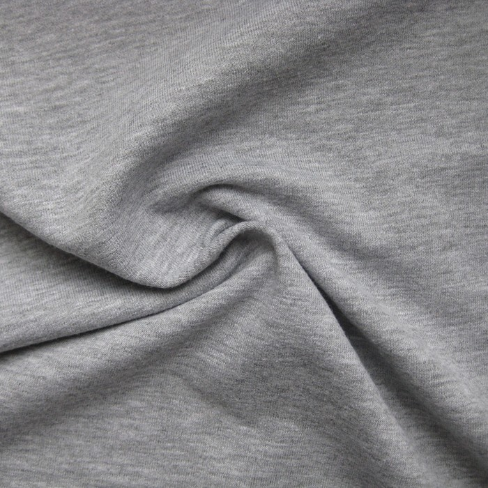 Простыня на резинке «Купу-купу», 80х200х20 см, серыйхмеланж, трикотаж