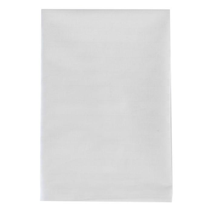 Наволочка Атра 50х70см цв.белый, страйп-сатин 3х3 140г/м хл100%