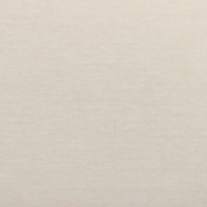 Простыня трикотажная на резинке, 120х200х20, цвет белый, 125 гр/м2