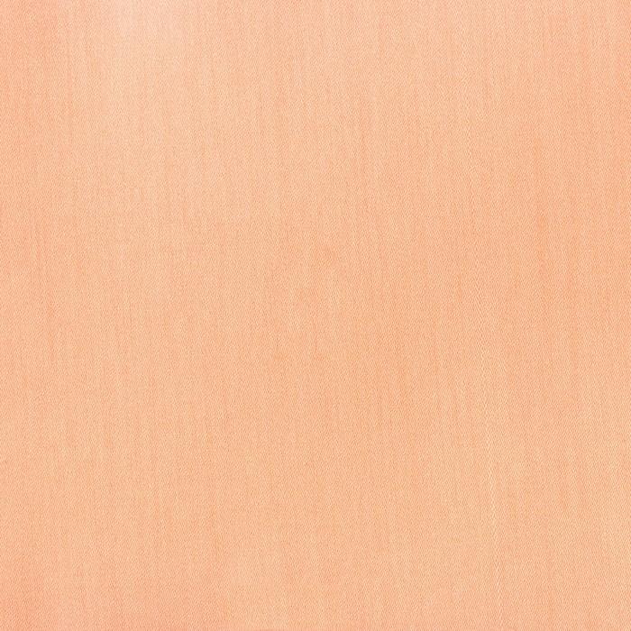 Простыня «Этель» 150×215 см, цвет персиковый, 100% хлопок, мако-сатин, 125 г/м²
