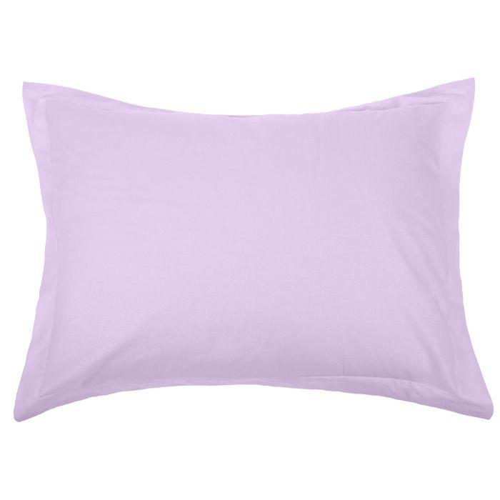 "Наволочка 1шт ""Фиолетовый"" 50 х 70 см/ + 5 см, перкаль 115 г/м2"