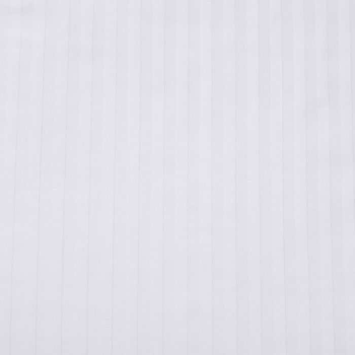 Простыня Атра евро 220х240 см сатин-страйп отбеленный 1х1 140 г/м хл100%
