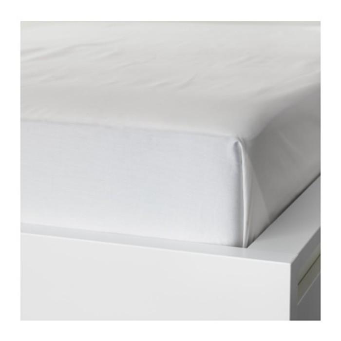 Простыня НАТТЭСМИН, размер 150х260 см, цвет белый