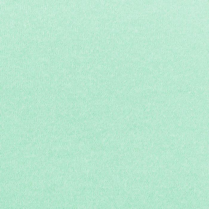 Простыня трикотажная на резинке, 200х200х20, цвет ментол, 125 гр/м2