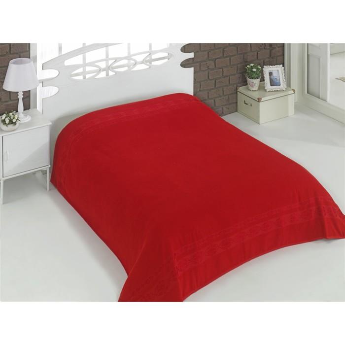 Простыня Rebeka, размер 200х220 см, цвет красный 2655
