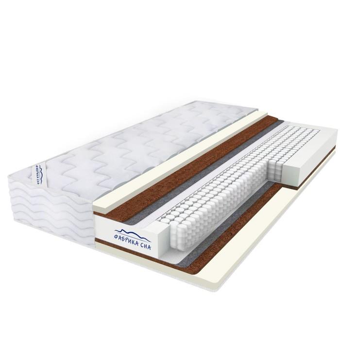 Матрас Bio Memory Cocos TFK, размер 90х190 см, высота 20 см, жаккард