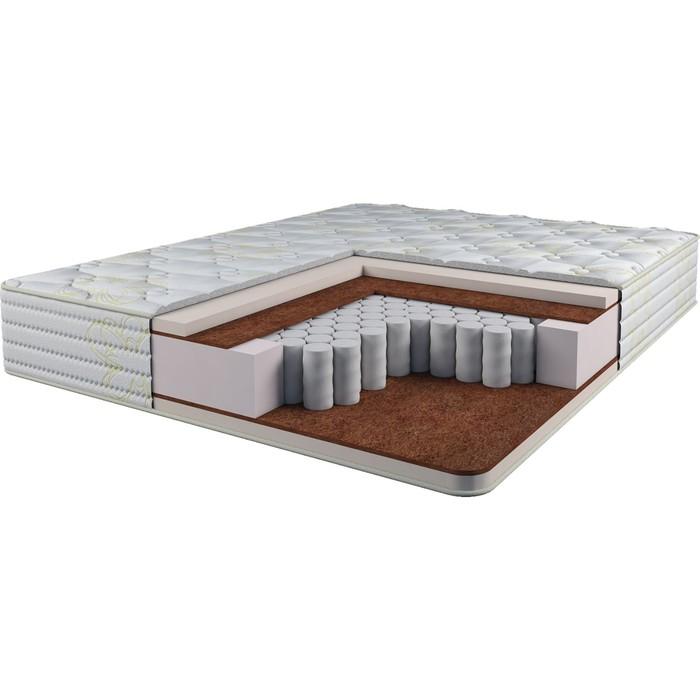 Матрас Lux Super Comfort Шахматы, размер 80 × 200 см, высота 25 см, трикотаж