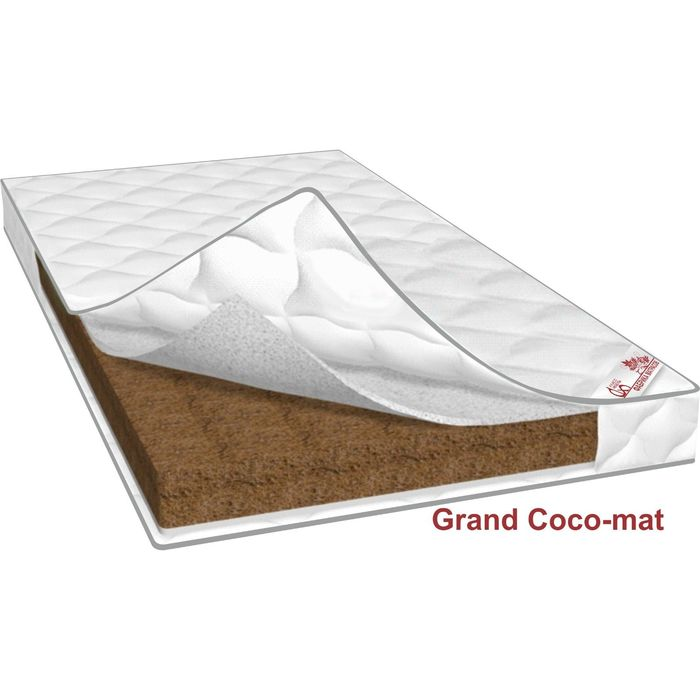 Матрас Grand Coco-mat, размер 140х190х12 см, трикотаж