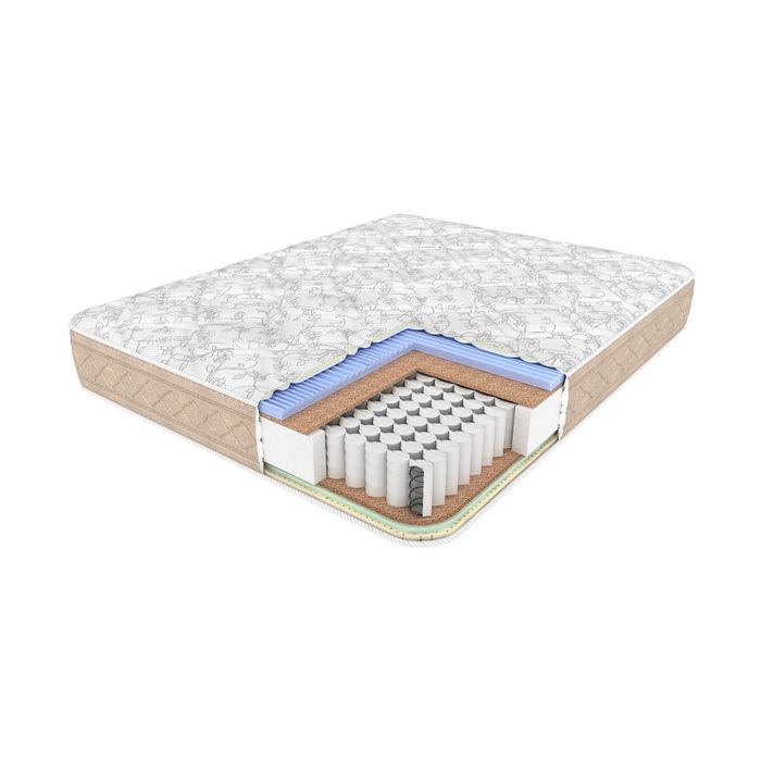 Матрас BioNative Night, размер 160х190 см, высота 24 см