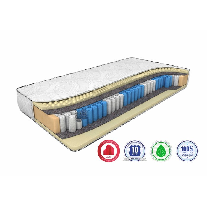 Матрас Sleep Smart Zone, размер 160 х 190 см, высота 21 см, трикотаж