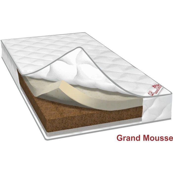 Матрас Grand Mousse, размер 180х190х20 см, трикотаж
