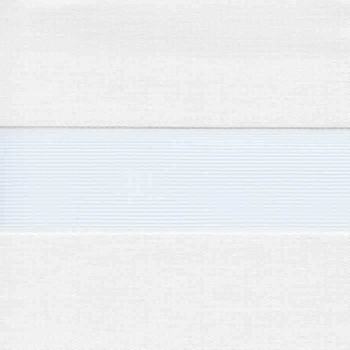 Штора текстильная для кухни день-ночь Lizbon, 80х160 см, цвет белый, пэ 100%