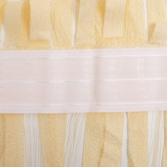 Штора на шторной ленте 245х250 см, цв.ч.роза, 100% п/э арт.р.Е827К