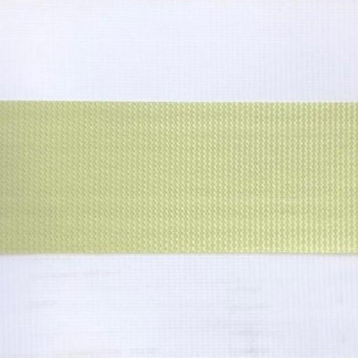 Штора текстильная для кухни день-ночь Lizbon, 100х160 см, цвет салатовый, пэ 100%