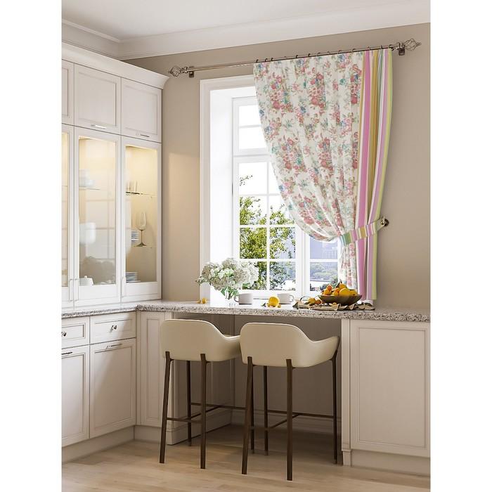 Портьера для кухни «Оринок», размер 150 × 180 см - 1 шт