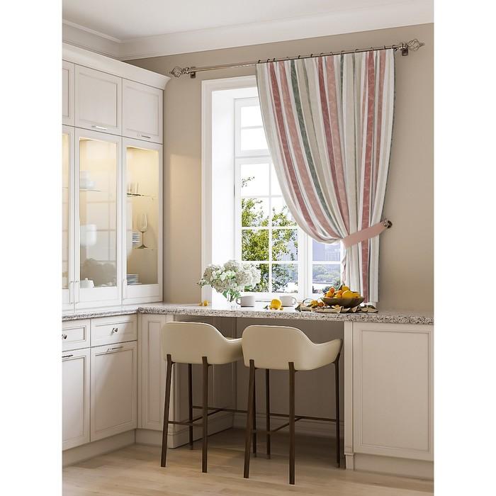 Портьера для кухни «Орли», размер 150 × 180 см - 1 шт