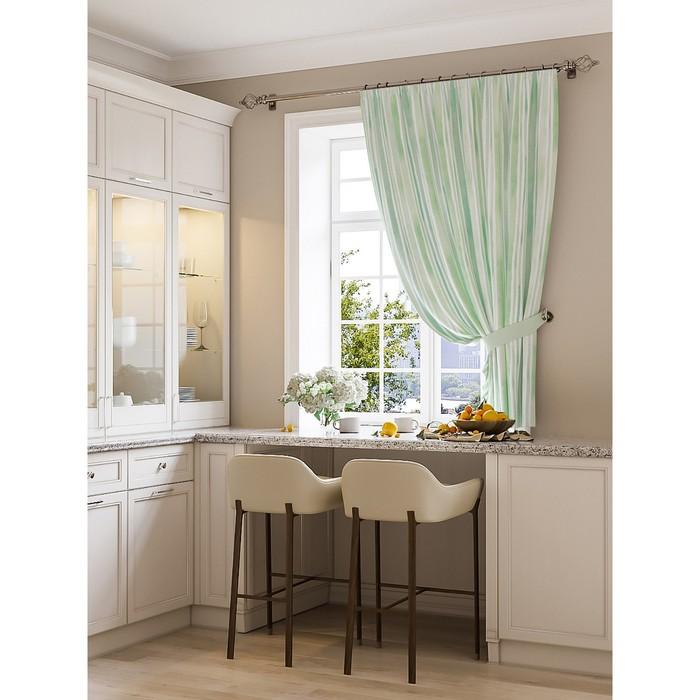 Портьера для кухни «Тарфи», размер 150 × 180 см - 1 шт