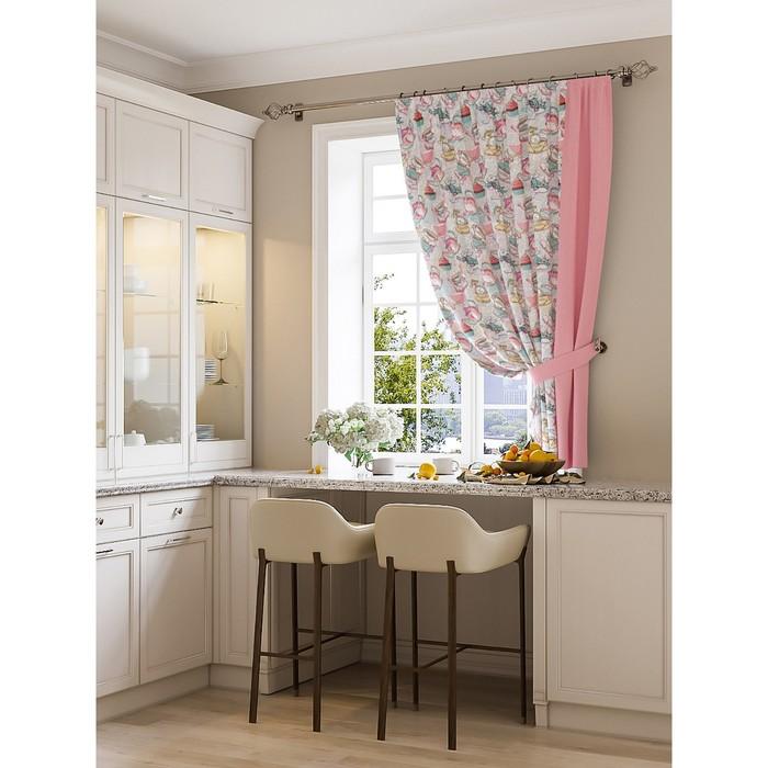 Портьера для кухни «Есей», размер 150 × 180 см - 1 шт