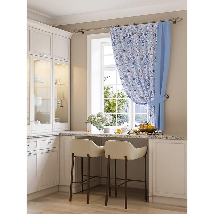 Портьера для кухни «Джесик», размер 150 × 180 см - 1 шт