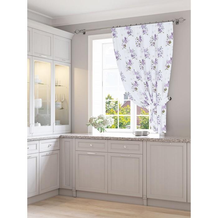 Портьера для кухни «Эрбин», размер 150 × 180 см - 1 шт