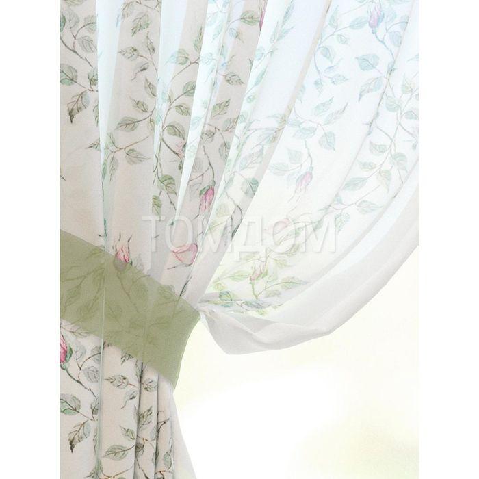 Комплект штор «Кайра», размер 150 × 180 см - 2 шт