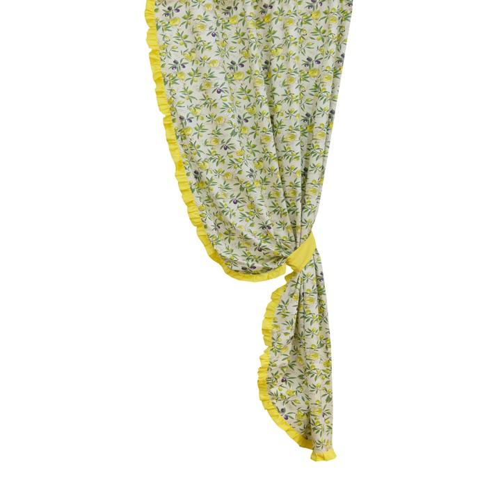 Комплект штор Olives, размер 145 × 270 см - 2 шт