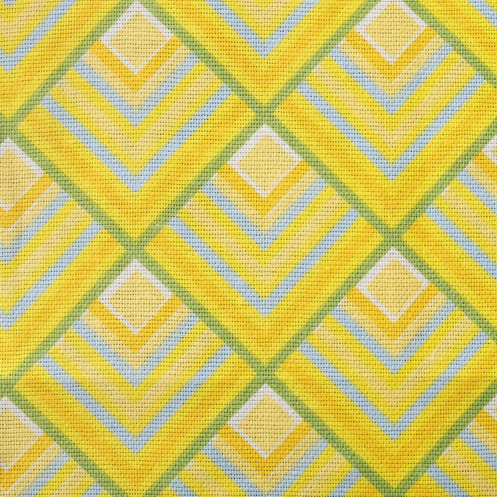 Полотенце рогожка Треугольники 35х60 см, хлопок 100%, 160 г/м2