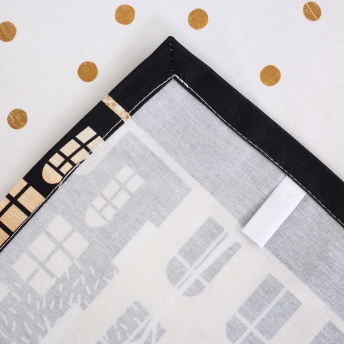 Скатерть «Этель: Золотой город 220 × 147 см, 100 % хлопок, саржа, 190 г/м²