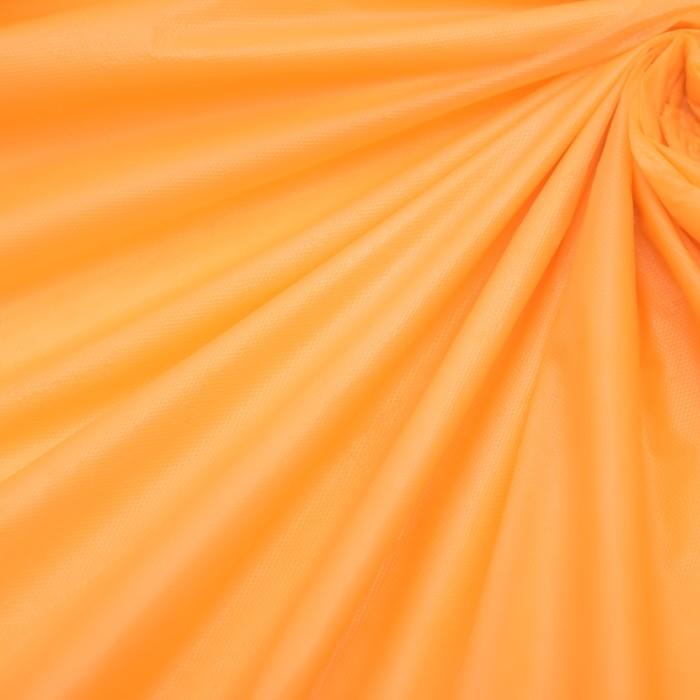 Скатерть для дачи Хозяюшка Радуга, цвет апельсин 137×274 см