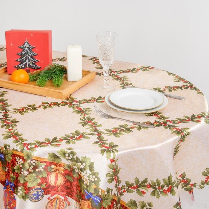 """Скатерть Collorista """"Рождество"""" 110*140 см, 100% п/э"""