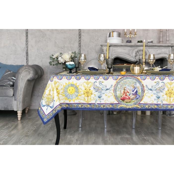 """Набор столовый """"Этель"""" Ренессанс, скатерть 180х150 см, салф. 40х40 см-8шт, 100% хл"""