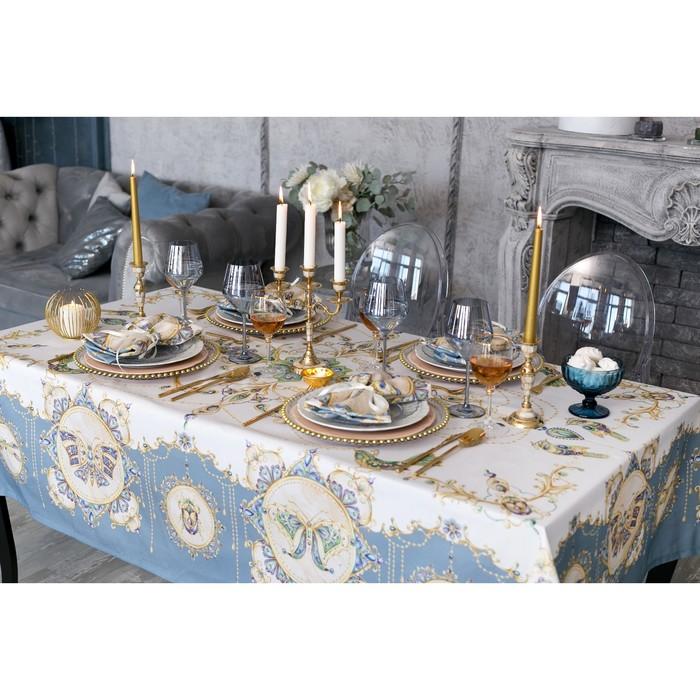 """Набор столовый """"Этель"""" Драгоценности, скатерть 220х150 см,салф.40х40 см-12шт,100% хл"""